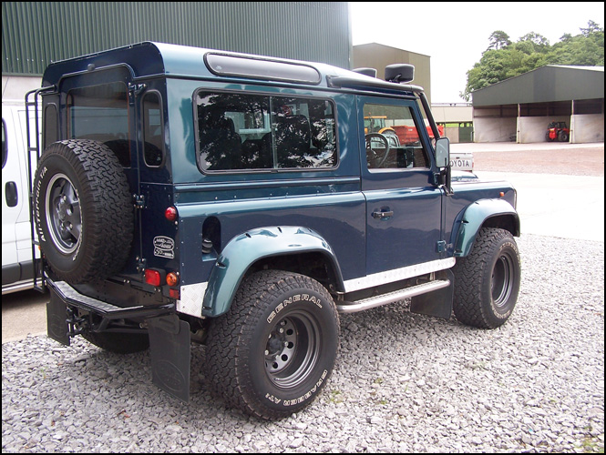 This Is Just One Of Many 50th Anniversary D90's That Have Benefited From Our 46 Upgrades And More Please Lookout For Additions To Page: Defender V8 Exhaust At Woreks.co