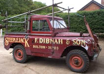 fred dibnah's land rover